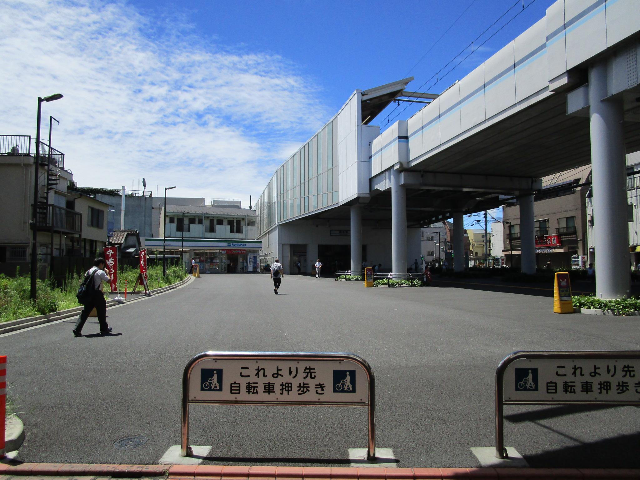 京急本線 雑色駅駅前