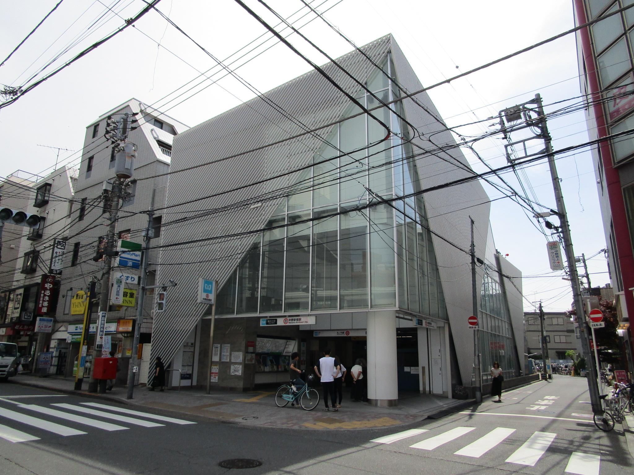 東京メトロ丸の内支線 中野新橋駅前(周辺)