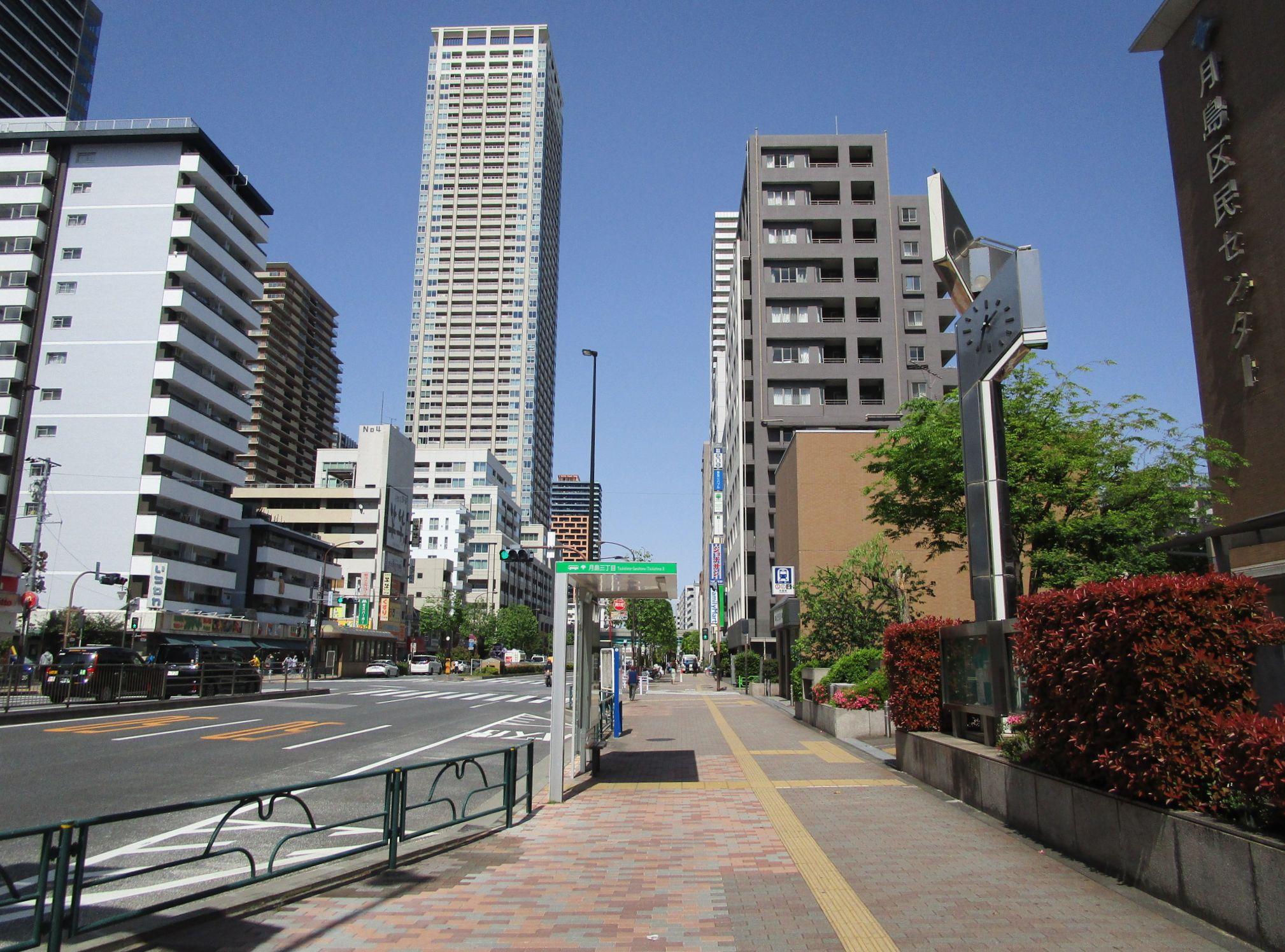 東京メトロ月島駅周辺