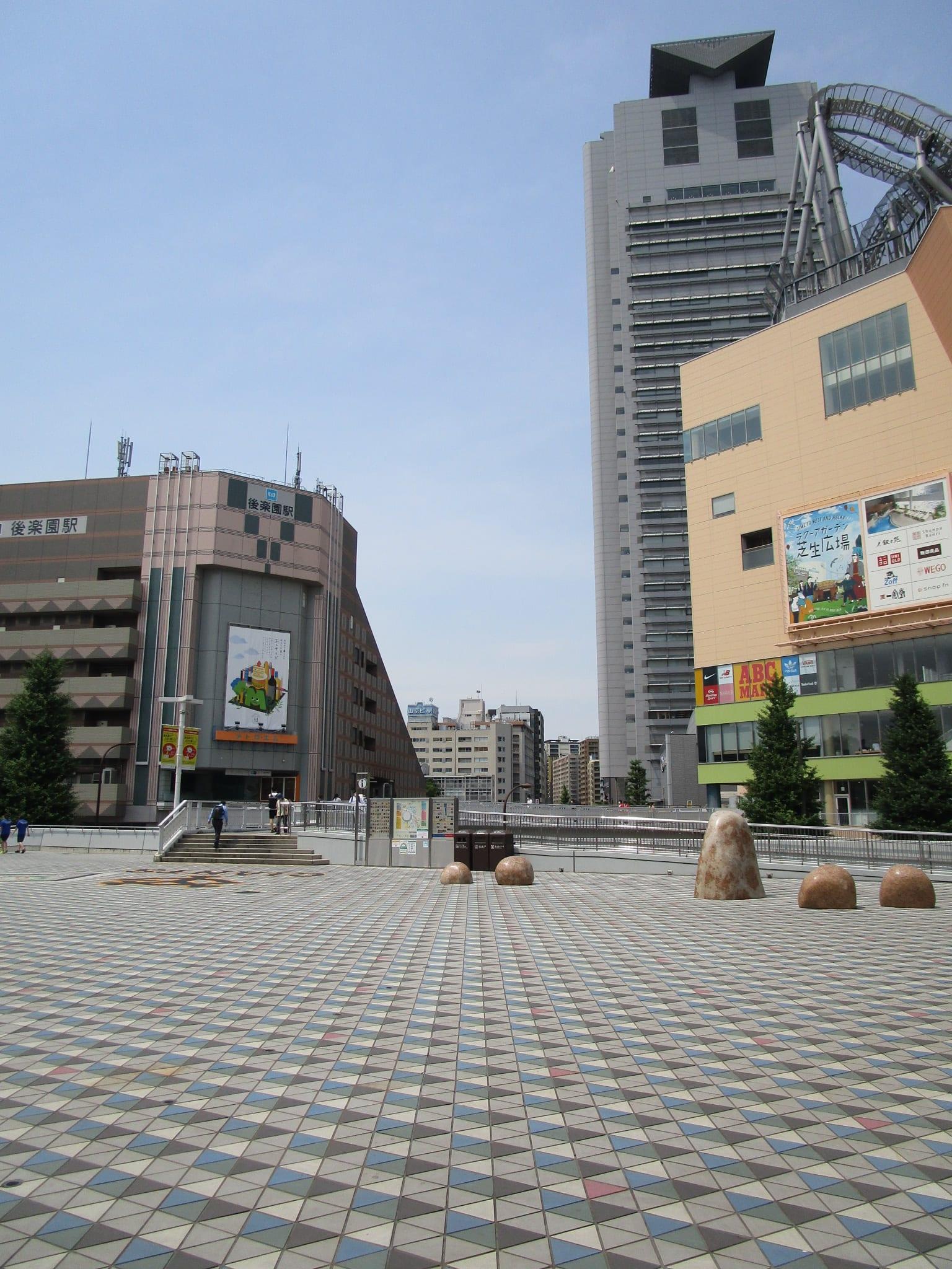 東京メトロ南北線・丸の内線 後楽園駅