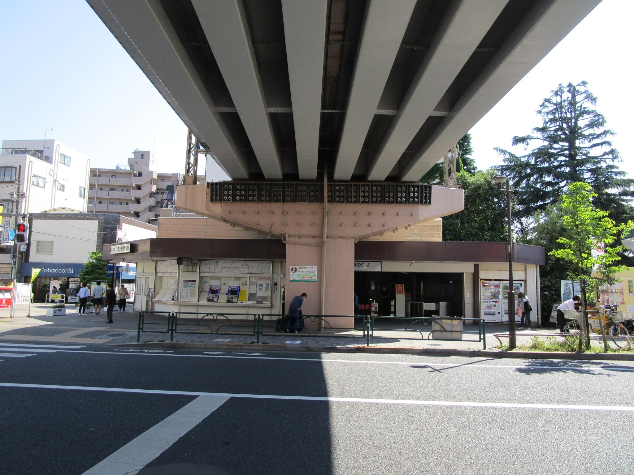 京王多摩川駅駅前(周辺)