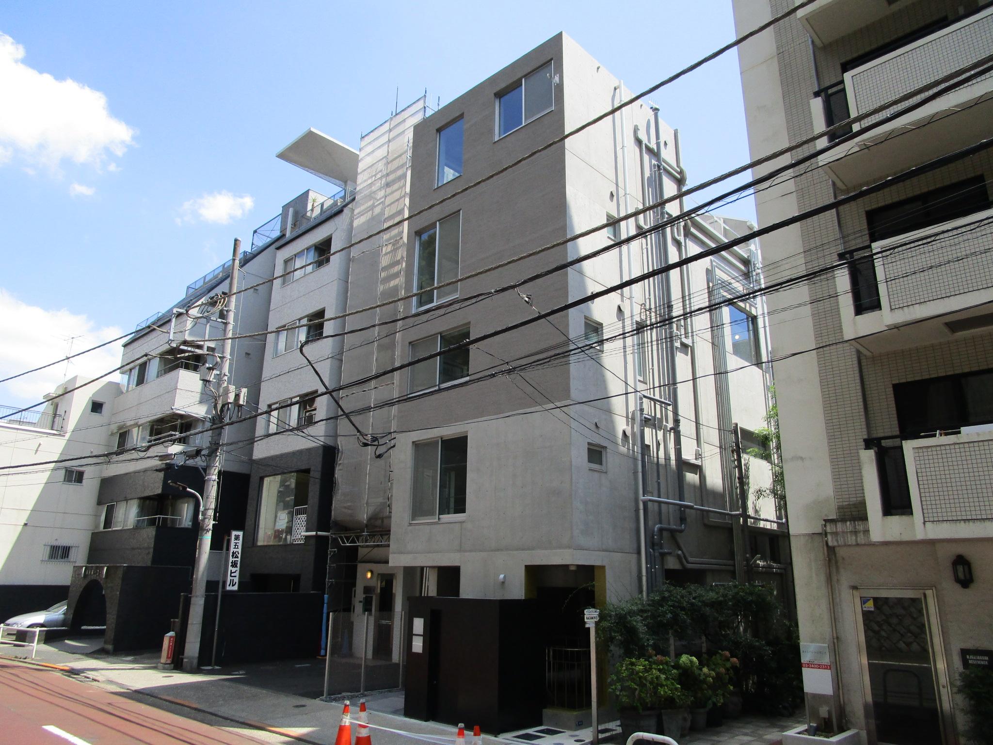 大江戸線「麻布十番」駅3分 令和3年7月築 RC造地下1階地上5階 エレバーター付